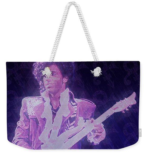 Purple Reign Weekender Tote Bag