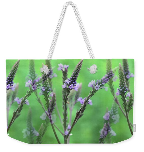 Purple Vervain Dreams Weekender Tote Bag