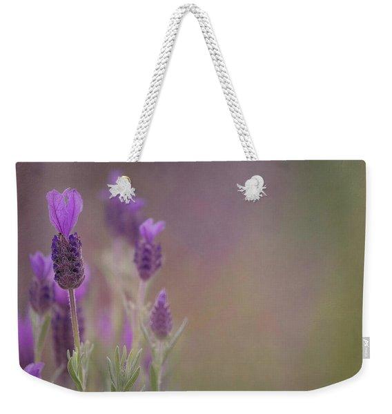 Purple Wings Weekender Tote Bag