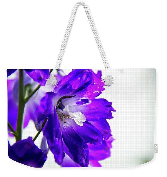 Purpled Weekender Tote Bag