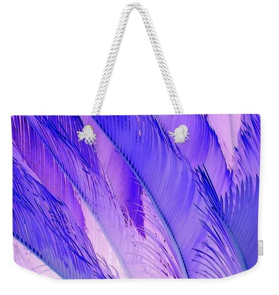 Purple Hues Weekender Tote Bag