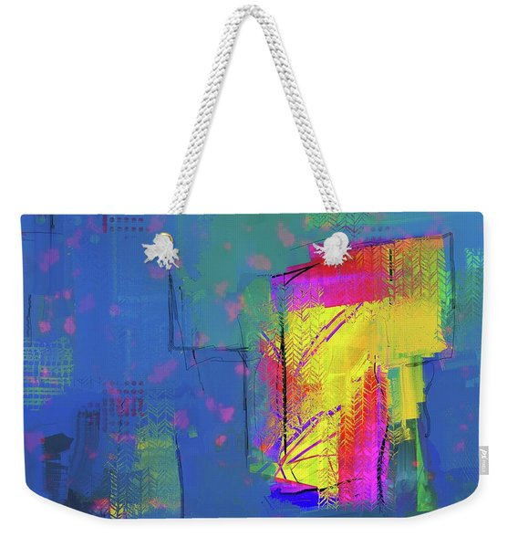 Purplish Rain Weekender Tote Bag