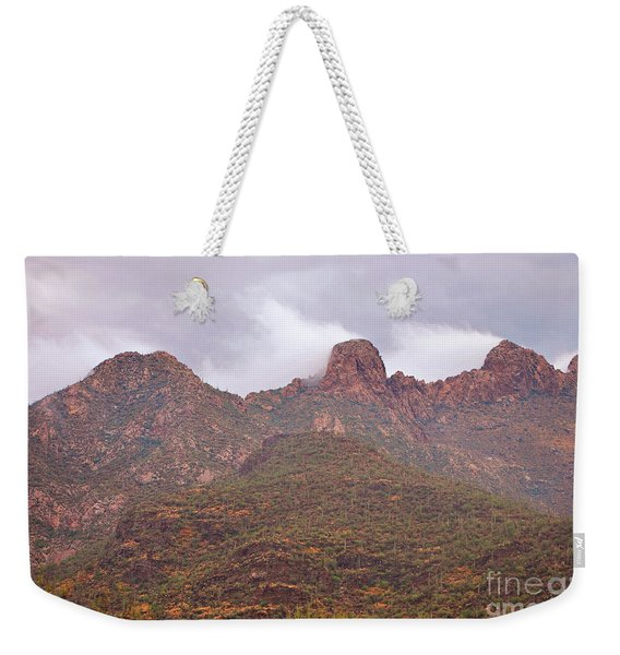 Pusch Ridge Tucson Arizona Weekender Tote Bag