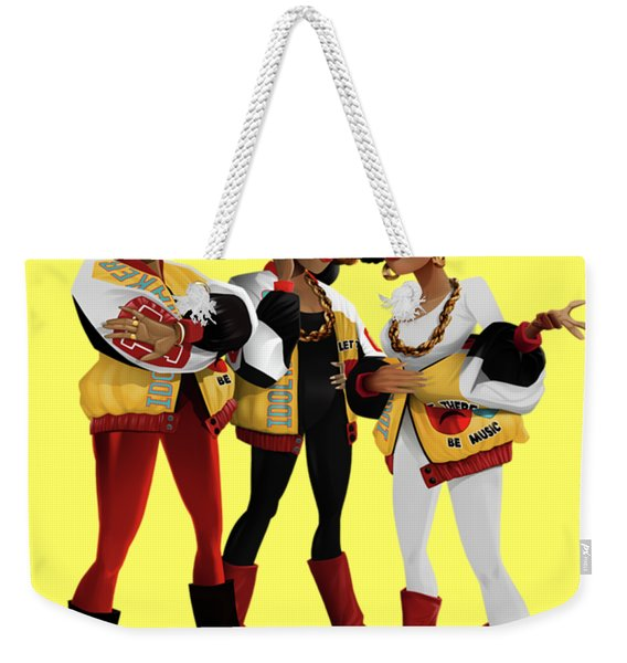 Push It Weekender Tote Bag