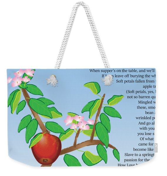 Putting In The Seed Weekender Tote Bag