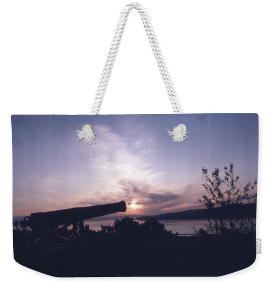 Putting Up The Sun Weekender Tote Bag
