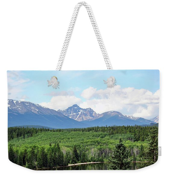 Pyramid Island - Jasper Ab. Weekender Tote Bag