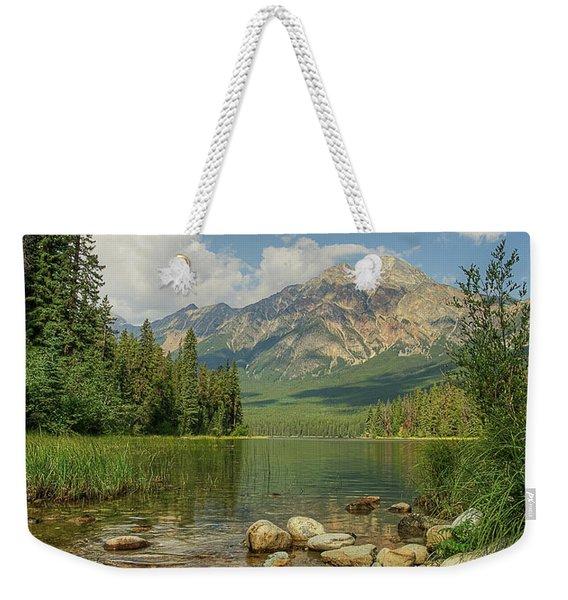 Pyramid Mountain Weekender Tote Bag