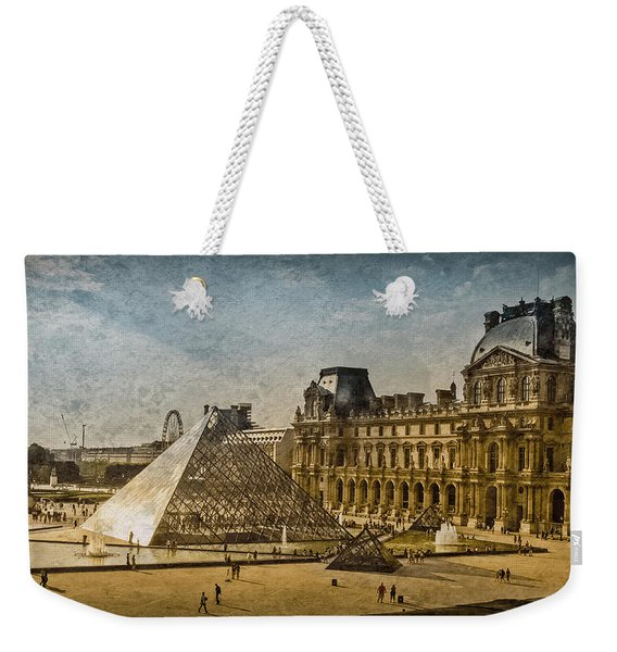 Paris, France - Pyramide Weekender Tote Bag