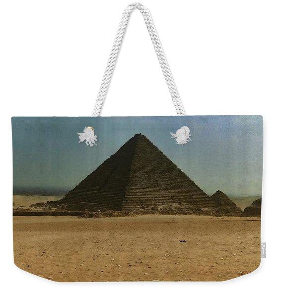 Pyramids Of Egypt Weekender Tote Bag