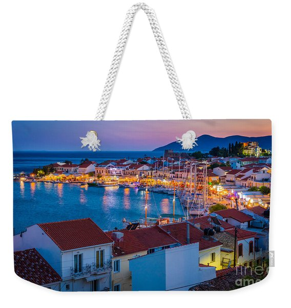 Pythagoreio Evening Weekender Tote Bag