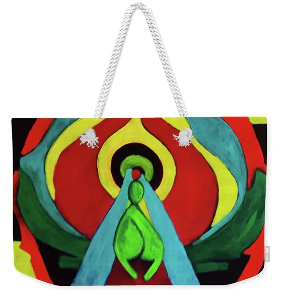 Q Weekender Tote Bag