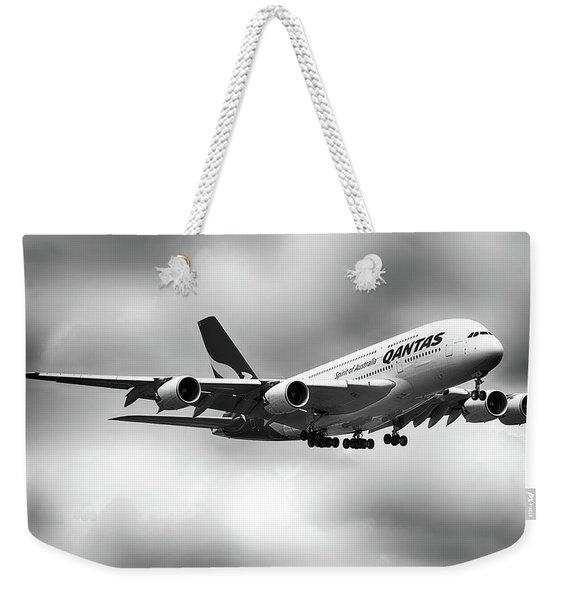 Qantas A380 0703126 Weekender Tote Bag
