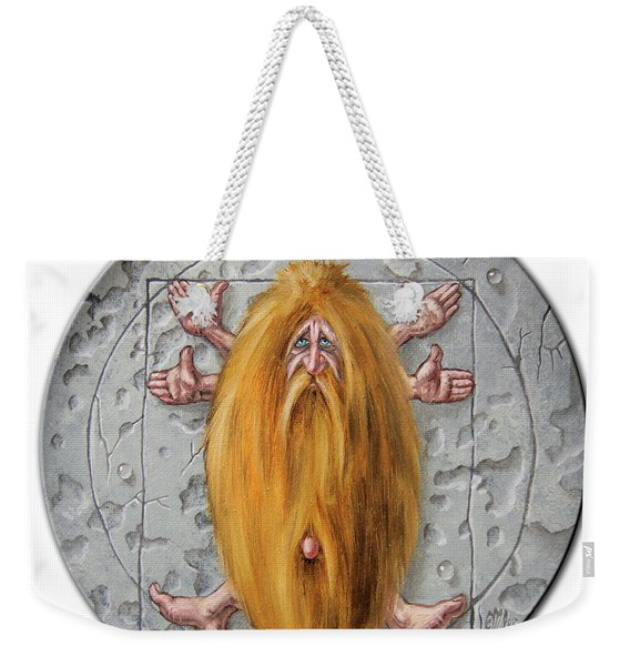 Quadrature Of The Circle Weekender Tote Bag
