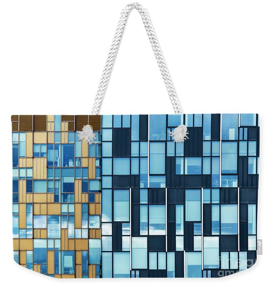 Quadrilateral Colour Weekender Tote Bag