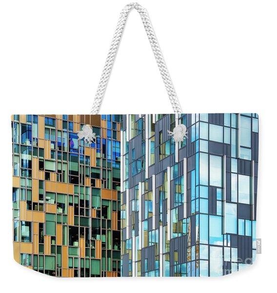 Quadrilaterals Weekender Tote Bag
