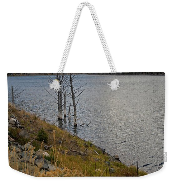 Quake Lake Weekender Tote Bag