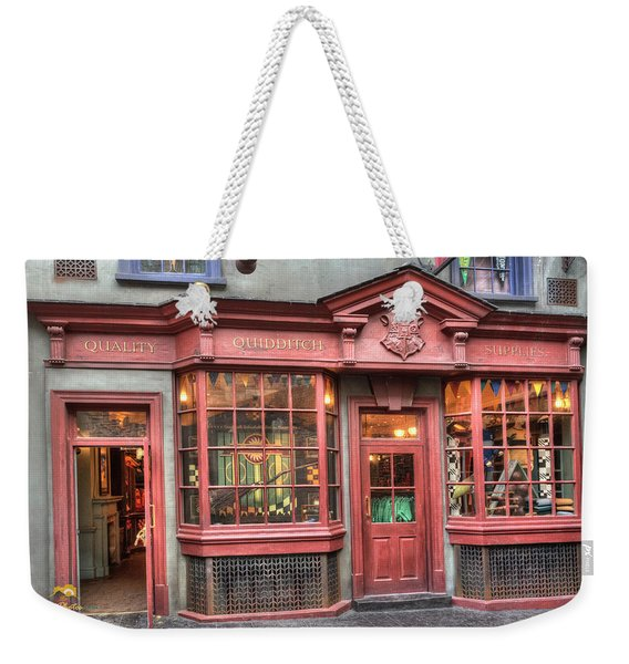 Weekender Tote Bag featuring the photograph Quality Quidditch Supplies by Jim Thompson
