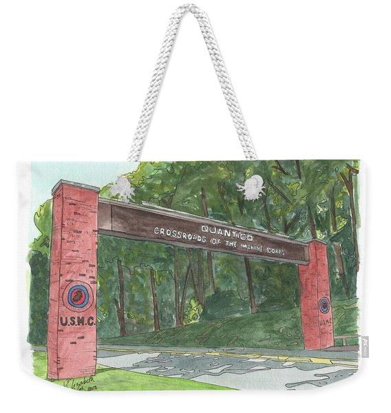 Quantico Welcome Weekender Tote Bag