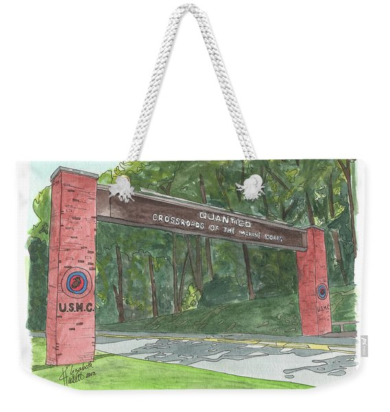 Quantico Welcome Weekender Tote Bag