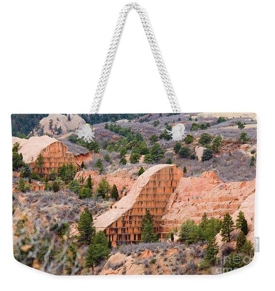 Quarry At Red Rock Canyon Colorado Springs Weekender Tote Bag
