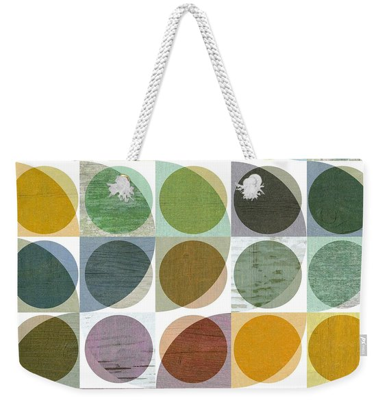 Quarter Circles Layer Project Two Weekender Tote Bag