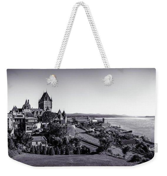 Quebec City Weekender Tote Bag