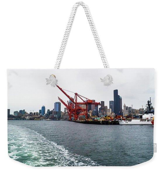 Queen City Weekender Tote Bag