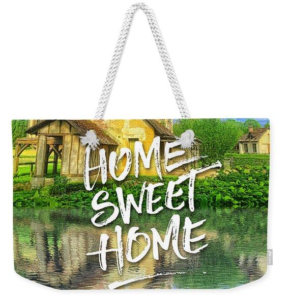 Queen Marie-antoinette Hamlet Cottage Versailles Paris France Weekender Tote Bag