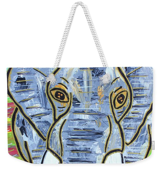 Queen Of The Jungle Weekender Tote Bag