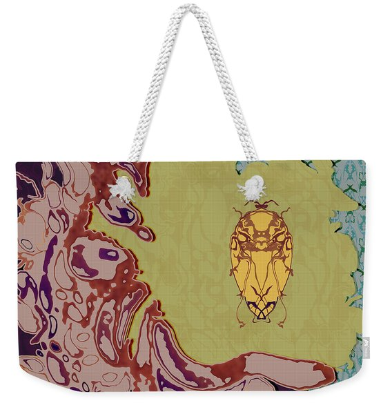 Queen Scarab Weekender Tote Bag