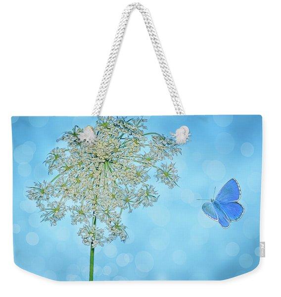 Queens Lace Weekender Tote Bag