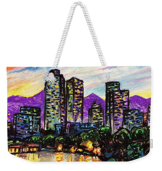 Quick Sketch - Denver Weekender Tote Bag