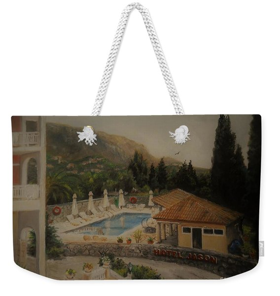 Quiet And Sunny Weekender Tote Bag