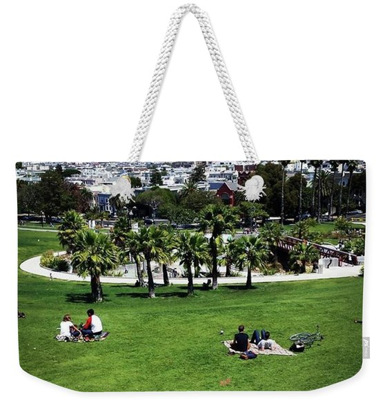 Weekender Tote Bag featuring the photograph Quiet At #doloresgaybeach by Mr Photojimsf
