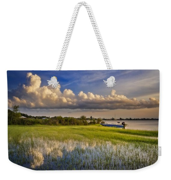 Quiet At Sunset Weekender Tote Bag