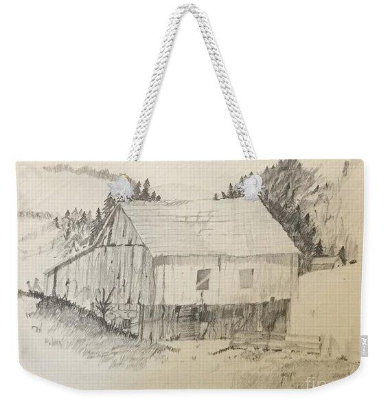 Quiet Barn Weekender Tote Bag