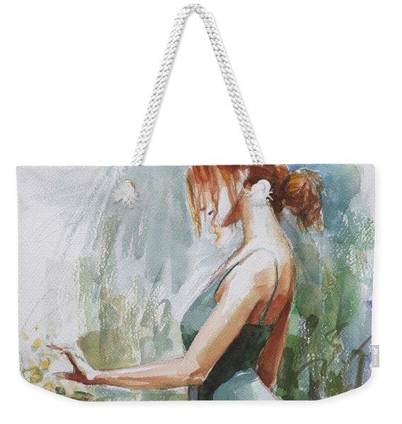Quiet Contemplation Weekender Tote Bag