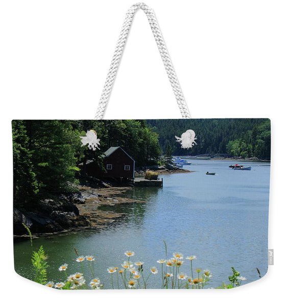 Quiet Cove 2 Weekender Tote Bag