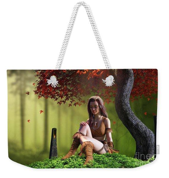 Quiet Weekender Tote Bag