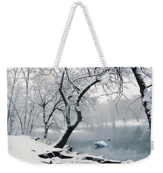 Quiet Grace Weekender Tote Bag