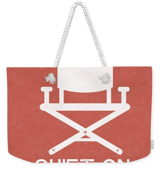 Quiet On Set 2- Art By Linda Woods Weekender Tote Bag