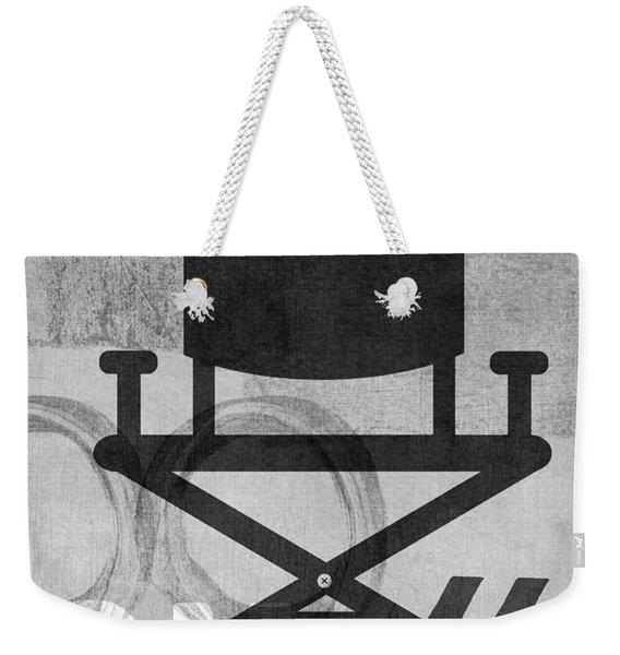 Quiet On Set- Art By Linda Woods Weekender Tote Bag