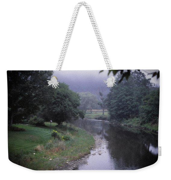 Quiet Stream- Woodstock, Vermont Weekender Tote Bag