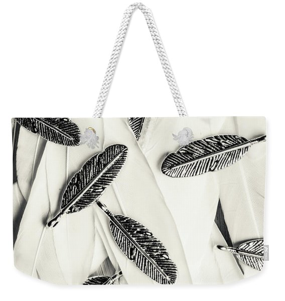 Quills Of A Feather Weekender Tote Bag