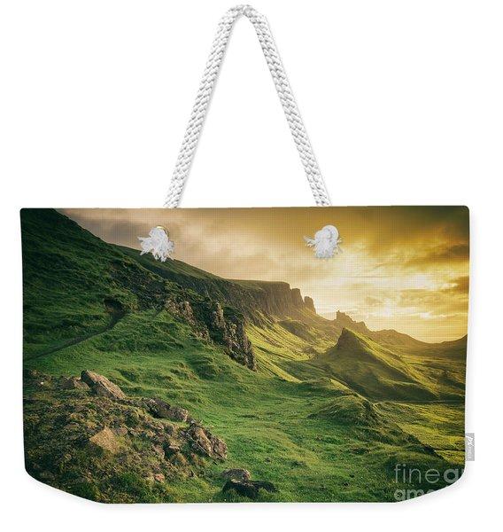 Quiraing Landscape 1 Weekender Tote Bag