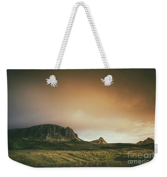 Quiraing Landscape 4 Weekender Tote Bag