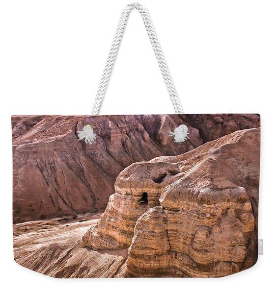 Qumran Cave 4, Israel Weekender Tote Bag