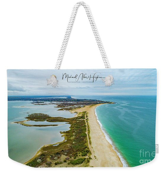 Quonochontaug Beach Weekender Tote Bag