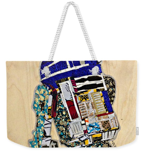 R2-d2 Star Wars Afrofuturist Collection Weekender Tote Bag